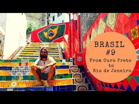 VISITING RIO DE JANEIRO AND OURO PRETO - Trip Therapy GoPro Hero HD