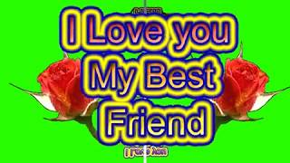 Happy Friendship Day Green Screen Effects - Happy Friendship Day speciel 3D Animated Video No  72