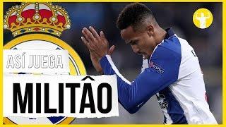 Como juega Militao - Fichaje Real Madrid 2019