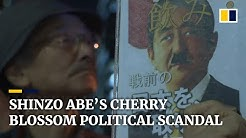 Cherry blossom party blooms into political scandals for Japanese Prime Minister Shinzo Abe