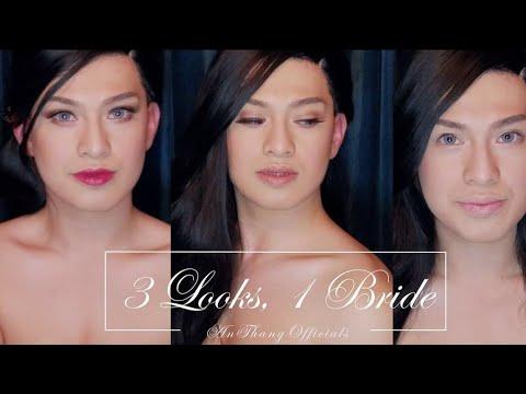 1 Bride, 3 Looks | Male to Female Transformation