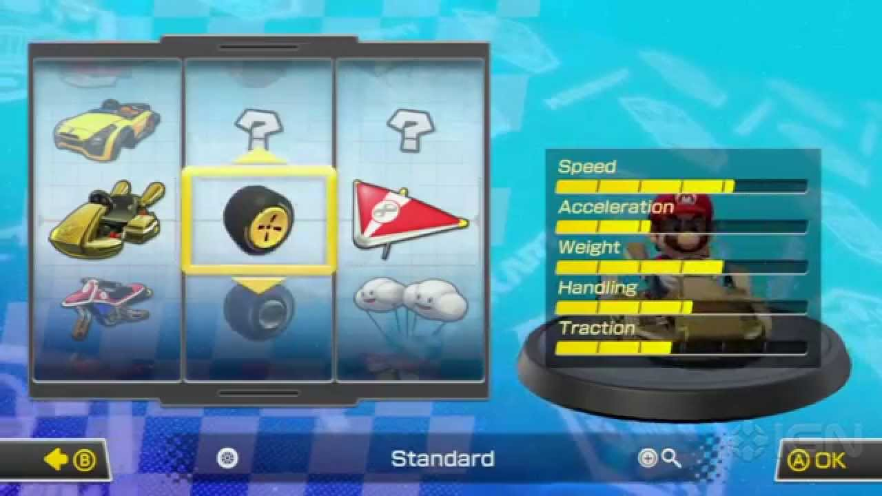 Mario Kart 8 How To Unlock The Gold Kart Gold Wheels Gold