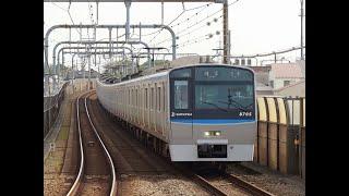 相鉄線20000系8両編成増備を前に@8705F