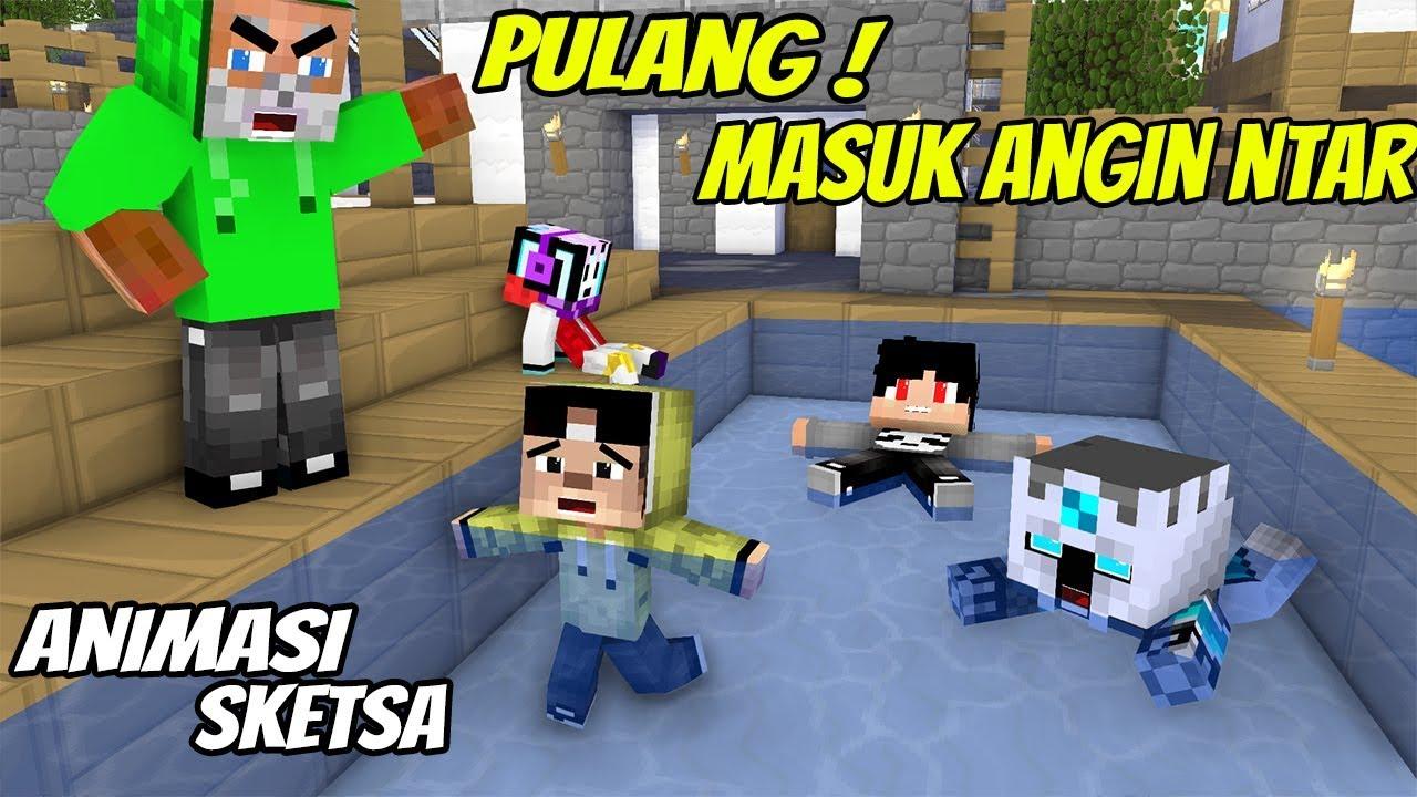 Download Special Movie - Erpan Berenang - Liburan ( Animasi Minecraft Indonesia )