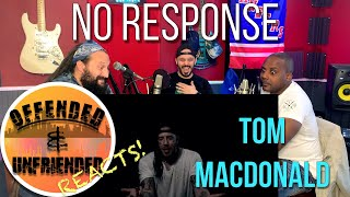 Offended And Unfriended Reacts: Tom Macdonald - No Response