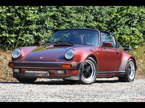 Porsche For Sale 1986 911 Carrera 3 2 Turbo Look Sse Targa Youtube