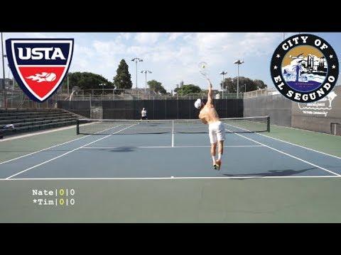 Tennis with Nate: USTA NTRP 4.5 vs 5.0 Highlights HD
