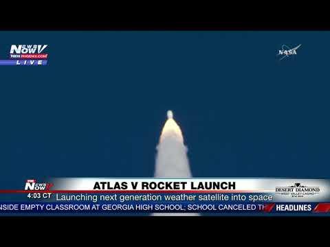 BLAST OFF: NASA Launches Atlas V Rocket (FNN)