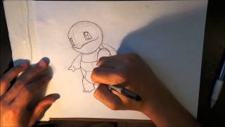 How to Draw Pokemon- Squirtle