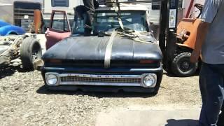 1964 Chevy c10 2004 thie frame swap