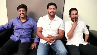 Thani Oruvan - Interview  | Jayam Ravi, Hiphop Tamizha, M. Raja
