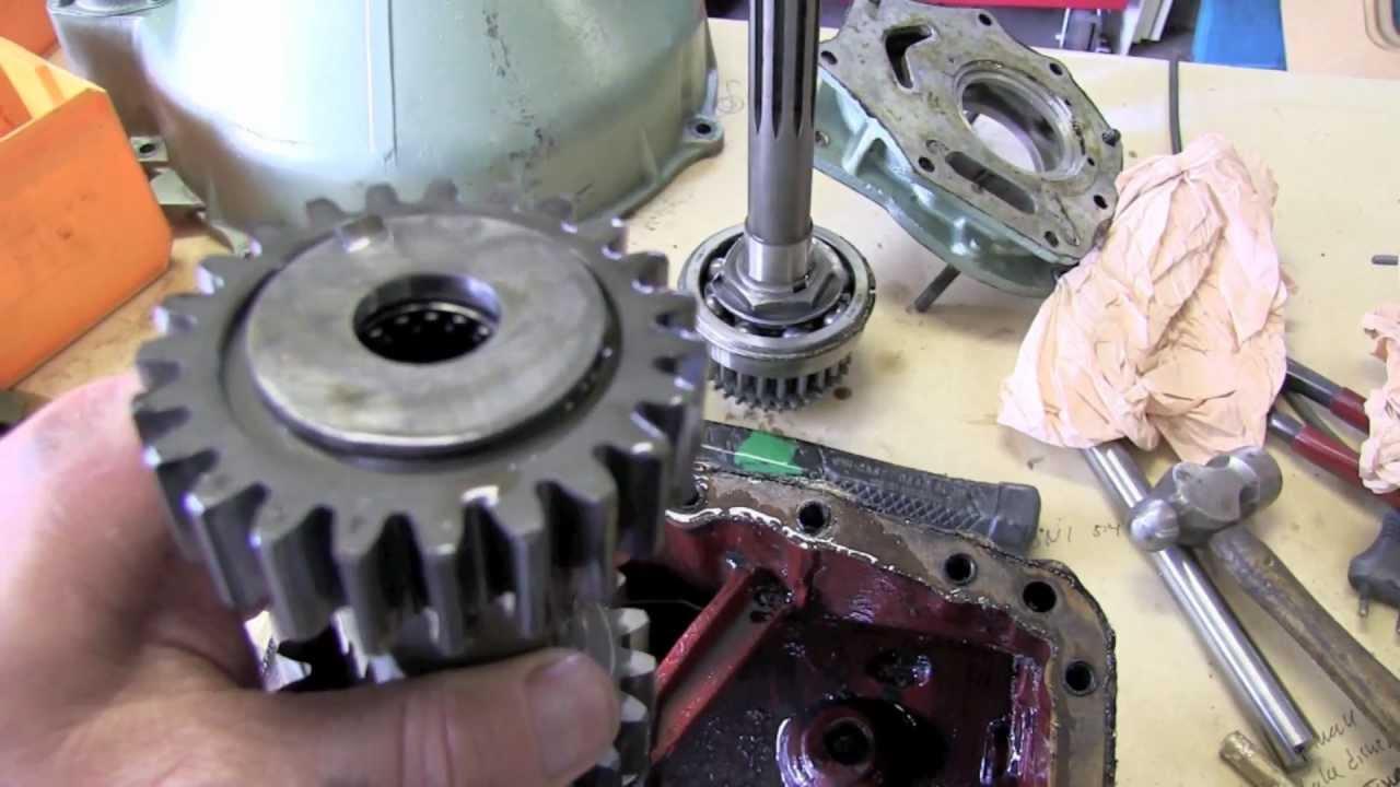 Cut-away gearbox midget