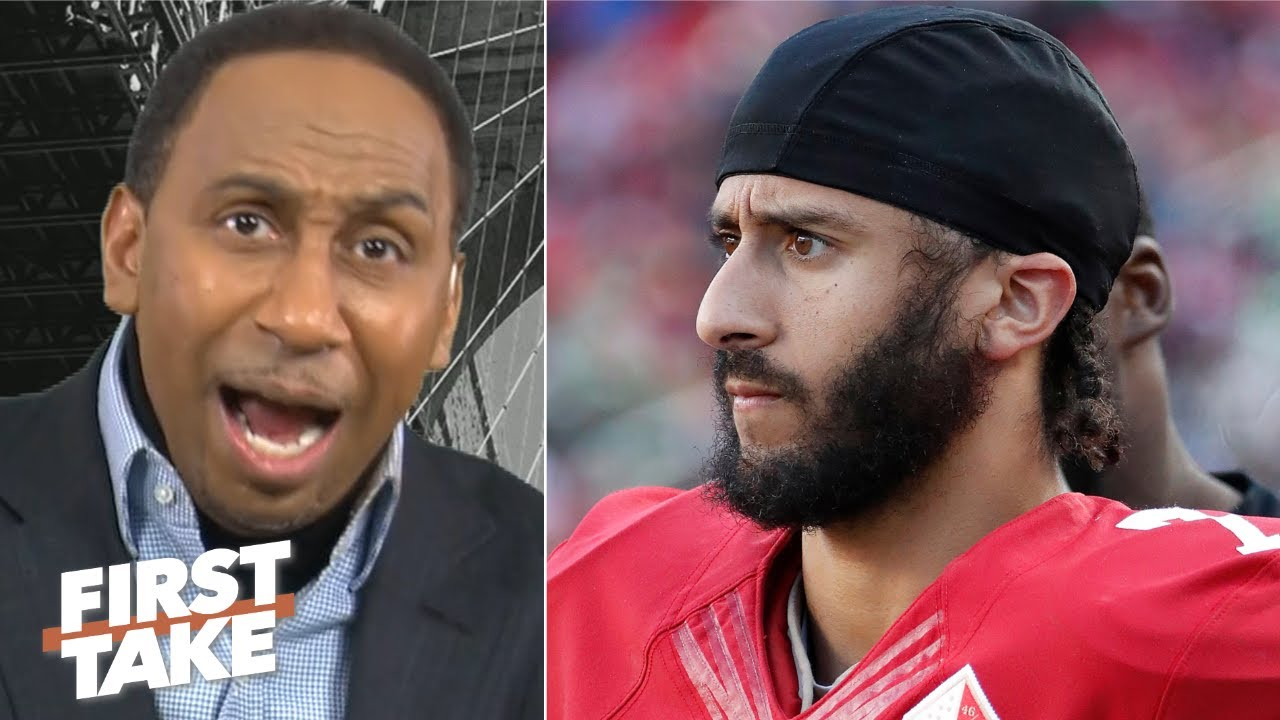 Stephen A.'s message to Colin Kaepernick: You better show up! I don't want excuses! | Firs