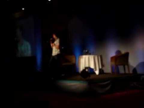 Asylum 2008 - Travis singing the Ghostfacers theme song