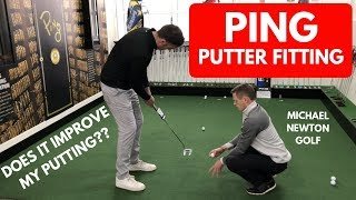 My Putter Custom Fit Session At PING Fitting Centre