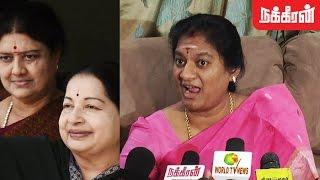 ஜெ.வை  பழிவாங்கினாரா சசிகலா ? Sasikala Pushpa Question About Jayalalitha's  Death