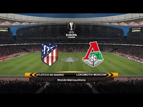 "FIFA 18: Atlético Madrid Vs Lokomotiv Moscow ""1st Leg"" UEFA Europa League"