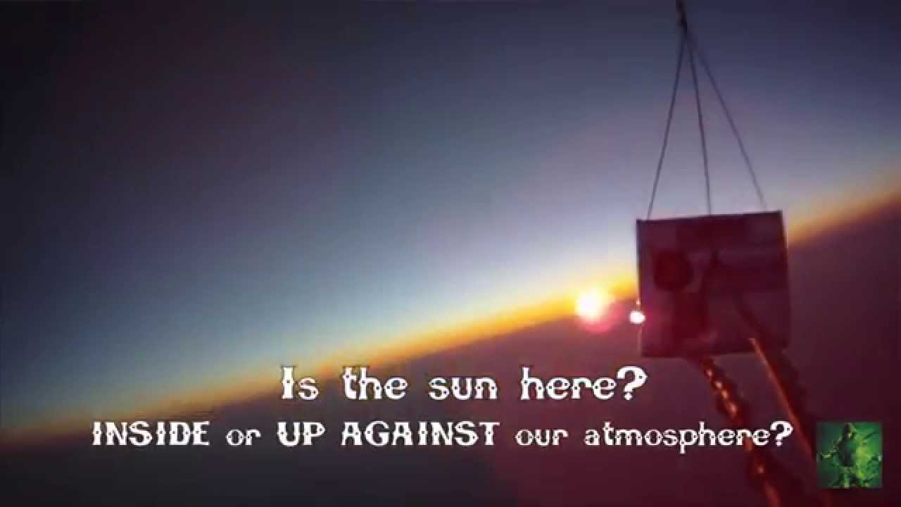 The Sun is NOT millions of miles away.