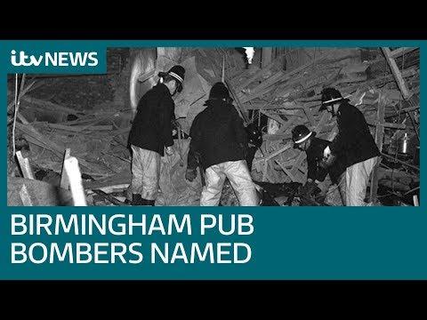 'Four Men Behind 1974 IRA Birmingham Pub Bombings' Named | ITV News