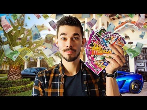 100€ DE JEUX A GRATTER : JE GAGNE COMBIEN ? 💰