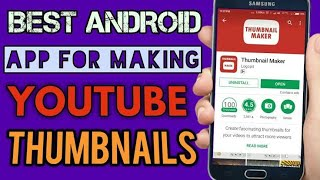 How to creat Youtube Thumbnail In Android Mobile || Technical BilAl