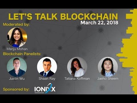 Lets Talk Blockchain Panel Discussion