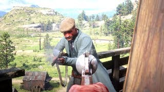 Red Dead Redemption 2 - First Person Epic Moments Gameplay Vol.14 (Euphoria Ragdolls)