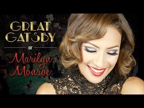 Great Gatsby Makeup Marilyn Monroe Inspired YouTube