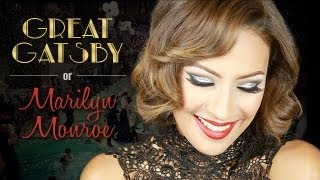 Great Gatsby Makeup / Marilyn Monroe Inspired