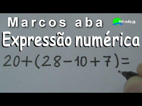 EXPRESSÃO NUMÉRICA  - Aula 5