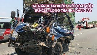 Tai nạn thảm khốc trên cao tốc TP HCM   Long Thành   Dầu Giây, 2 người chết