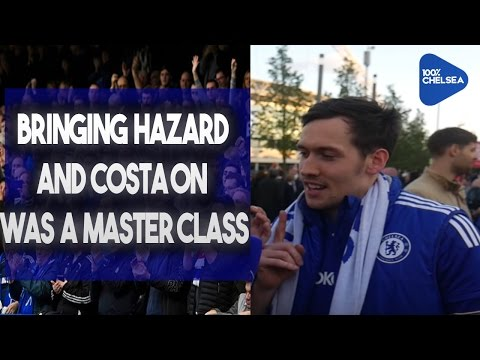 """Bringing Hazard and Costa on was a masterclass!"" says Craig! 