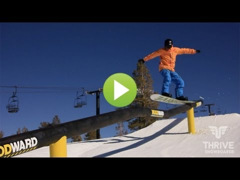 662cdf10b50c Snowboard Trick Tips  Skate Style Boxes and Rails - YouTube