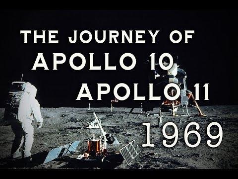 NASA - Apollo 10 & Apollo 11 - Their Journeys to the Moon