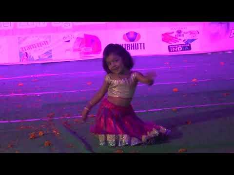DHOLPUR TALENT HUNT 2 Ghagra dance by shagun Sharma