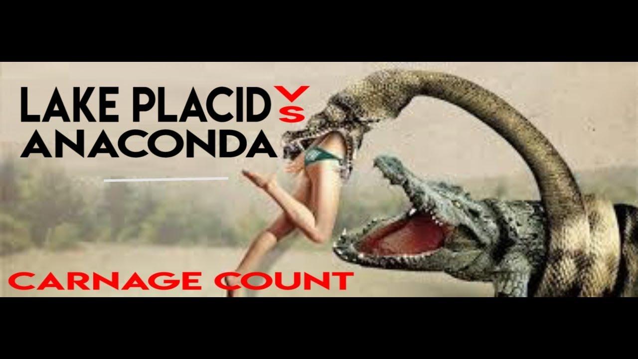 Anaconda Vs Lake Placid Full Movie lake placid vs anaconda (2015) carnage count