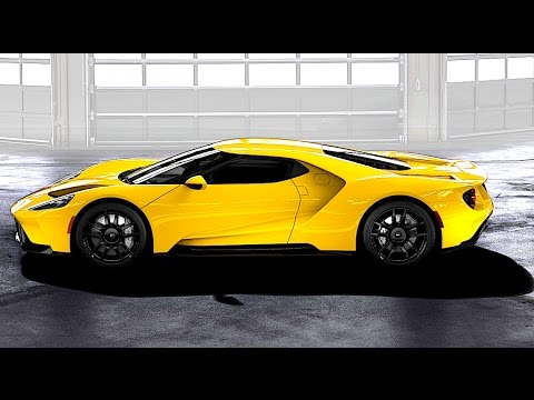 Ford GT 2017 Driving + Ford GT 66 Ltd Edition New Ford GT INTERIOR On Sale (No Engine Sound) CARJAM