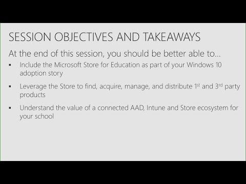 Learn how to leverage the Microsoft Store for Education in your school (Repeat) - THR1079R