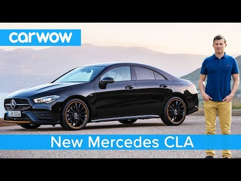 New Mercedes CLA 2019 - see why it's WAY cooler than an Audi A3 Saloon!