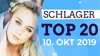 SCHLAGER CHARTS 2019 - Die TOP 20 vom 10. Oktober