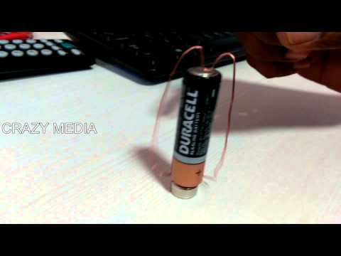 Homopolar motor by Lorentz force