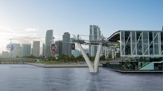 A Ride on the SkyLink from Downtown Miami to South Beach