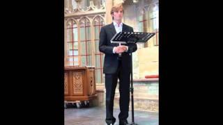 Robert Kuizenga (Countertenor) - Gott hat alles wohl gemacht  (J.S. Bach)