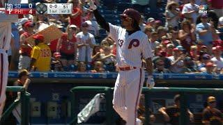 7/9/17: Phillies top Padres on huge six-homer day