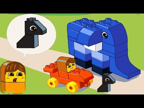 LEGO DUPLO Cartoon Mini Stories | Kids Night Story Animation Lego Education Game for Kids & Toddlers