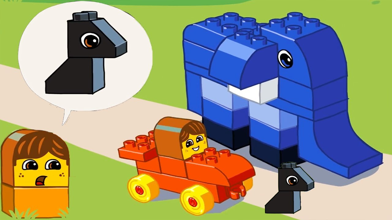 LEGO DUPLO Cartoon Mini Stories | Kids Night Story Animation Lego Education Game for Kids & Todd