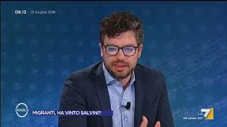 Omnibus - Migranti, ha vinto Salvini? (Puntata 13/06/2018) thumbnail