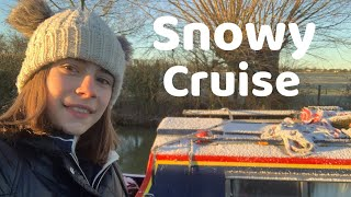 A little bit of snow and a short cruise to Fenny Compton