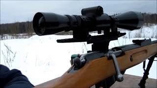 Кронштейн с вивером на винтовку Мосина. Отстрел!! // Universal bracket for Mosin ..!