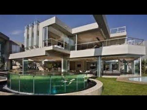 Desain Rumah Minimalis 2 Lantai Full Kaca - YouTube